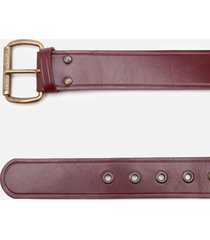 vivienne westwood women's alex belt - oxi bronze vino leather