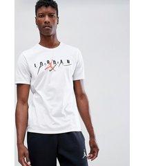 jordan - flight - weißes t-shirt - 916136-101 - weiß