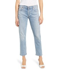 women's citizens of humanity emerson high waist slim boyfriend jeans