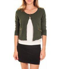 blazer vero moda wiliana 3/4 blazer kombu green/w.black vert
