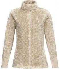 chaqueta furry shaggy-pro jacket crudo lippi