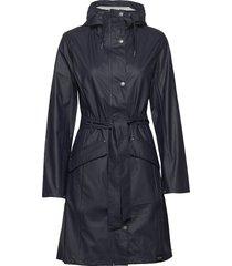 indra raincoat trench coat rock blå tretorn