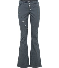 pantaloni a zampa (grigio) - rainbow