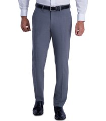 kenneth cole reaction men's slim-fit stretch pinstripe dress pants