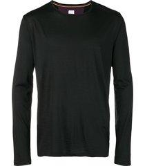 paul smith contrast panel sweatshirt - 79