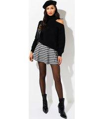 akira ready to rule pleated mini skirt
