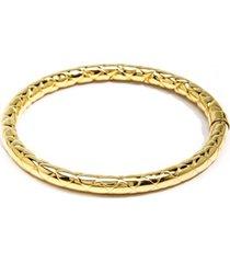 zenzii criss cross metal bracelet