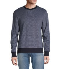 boss hugo boss men's stadler sweatshirt - navy - size xxl