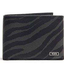 tiger double bi-fold wallet