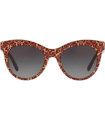 origin 53mm damask-print oval sunglasses