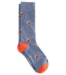 jos. a. bank bulldog pattern socks, 1-pair