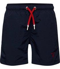 boy's basic swim shorts badshorts blå gant