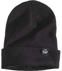wolverine fleeced lined knit watch cap black, size one size