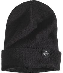 wolverine fleeced lined knit watch cap black, size one size
