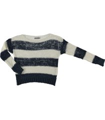 geisha pullover knitted striped
