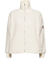 kathryn pile zip sweater sweat-shirt trui crème svea