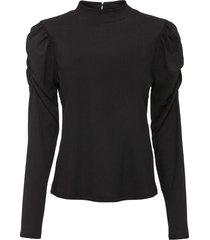 maglia in tessuto operato (nero) - bodyflirt