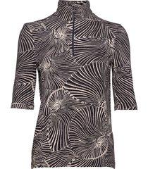 jessa blouses short-sleeved zwart baum und pferdgarten