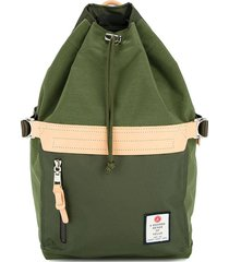 as2ov drawstring backpack - green