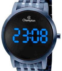relã³gio champion digital ch40099a - azul - masculino - dafiti