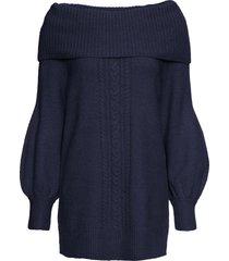 maglione con collo a ciambella (blu) - bodyflirt