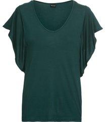maglia con maniche ad aletta (verde) - bodyflirt