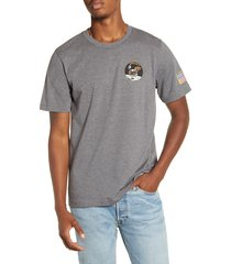 men's alpha industries apollo t-shirt, size xx-large - grey