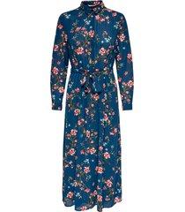 klänning onlclaire l/s midi shirt dress