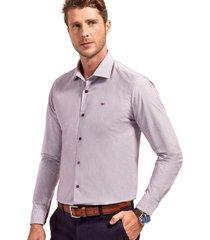camisa manga larga business sterling morado ferouch