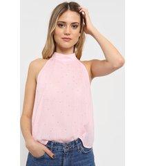 blusa rosa desiderata