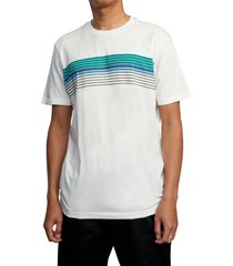 men's rvca strate up t-shirt, size x-large - ivory