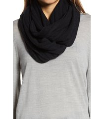 women's halogen solid cashmere infinity scarf