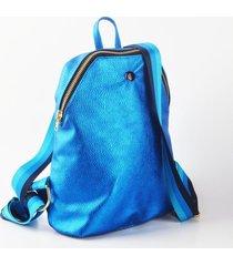 mochila azul hi benedetta jackie