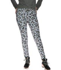 pantalon mujer print/fashion symbol jegging gris