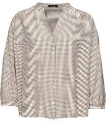 opus geruite blouse fatile