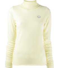 société anonyme turtleneck sweatshirt - yellow