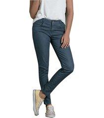 pantalón adulto femenino azul acero rutta