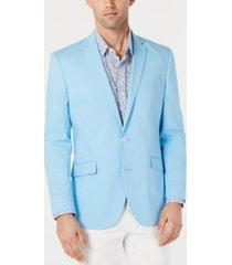 kenneth cole unlisted men's slim-fit chambray sport coat
