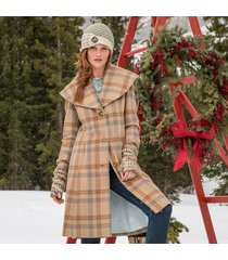 dorset plaid coat