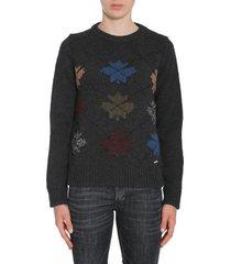 dsquared2 round collar sweater