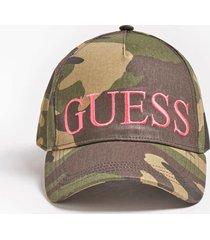 czapka z daszkiem z printem camouflage