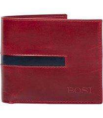 billetera calessi rojo bosi