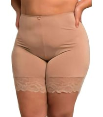 short anágua plus size shanty chocolate