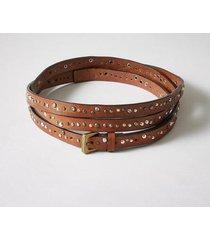 sundance catalog women's venus rising belt in brown large