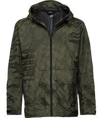 camo rain j outerwear sport jackets groen adidas performance