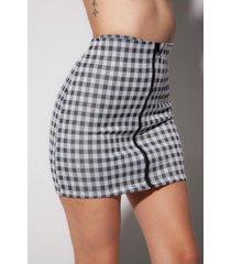 minifalda de cuadros gabriela