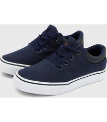 tenis azul navy-blanco hang ten