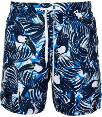 traje de baño toucan print 7 azul tommy hilfiger