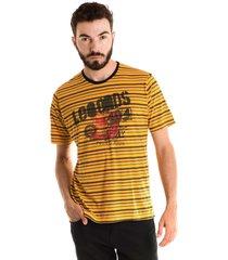 camiseta konciny básica manga curta amarelo