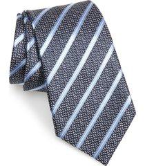 men's ermenegildo zegna stripe silk tie